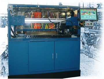 custom machines cutting wire